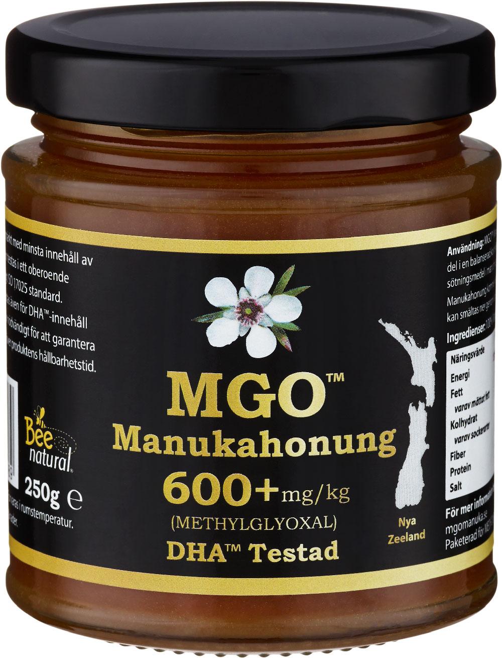 MGO Manukahonung 600+