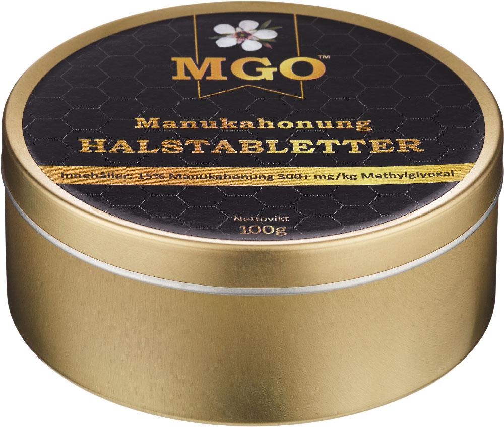 MGO Halstabletter Manukahonung